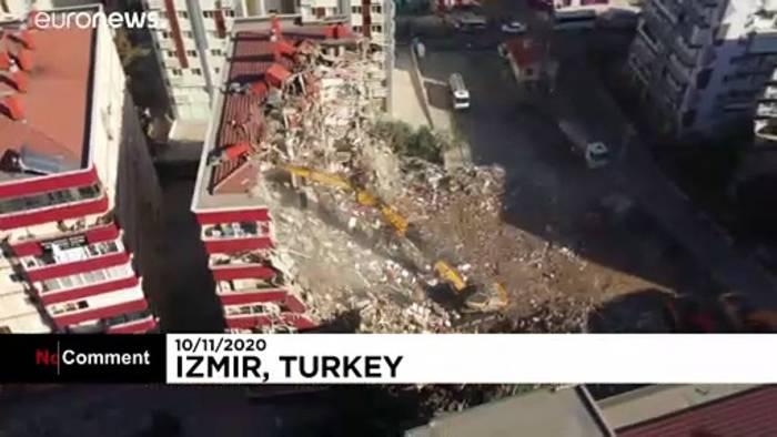 Video: Izmir: Abreißen und Aufräumen