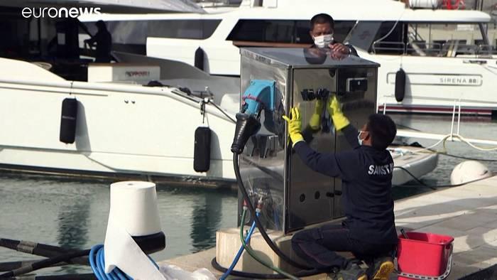 Video: Superyachten: Monaco löst Luxusproblem