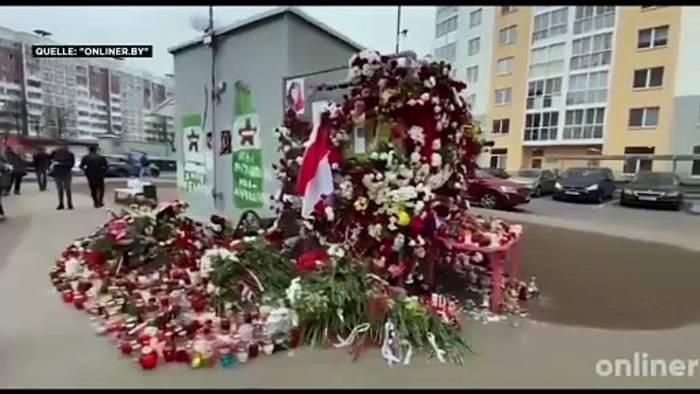 News video: EU droht Belarus nach Tod von 31-Jährigem mit weiteren Sanktionen