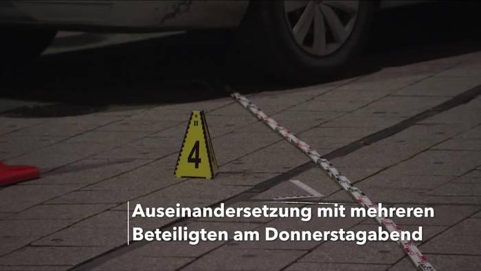 News video: Tödliche Auseinandersetzung am Hauptbahnhof Leipzig