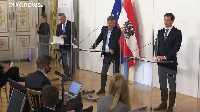 Video: Österreichs harter Lockdown bis zum 7.12.: