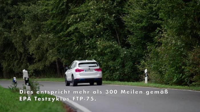News video: Der BMW iX - Herausragende Effizienz und hohe Reichweite dank BMW eDrive Technologie der fünften Generation