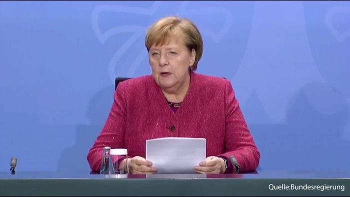 Video: Bundeskanzlerin Merkel: Jeder Kontakt der nicht stattfindet ist gut!
