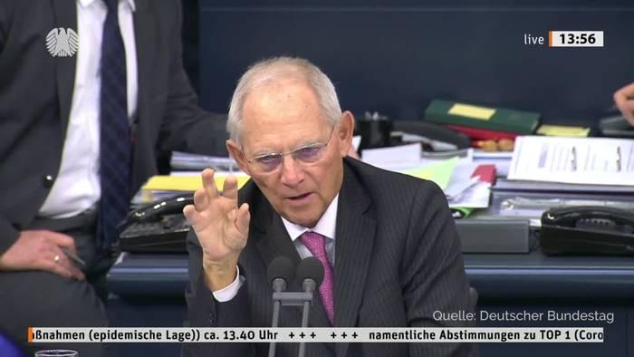 News video: Bundestag beschließt Änderungen am Infektionsschutzgesetz
