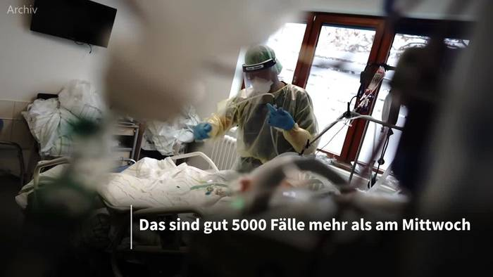 Video: 22 609 Fälle: Corona-Neuinfektionen über dem Vorwochenstand