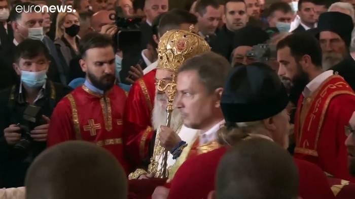 Video: Patriarch Irinej nach Coronavirusansteckung gestorben