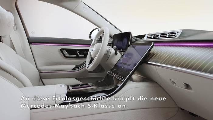 News video: Die neue Mercedes-Maybach S-Klasse Trailer