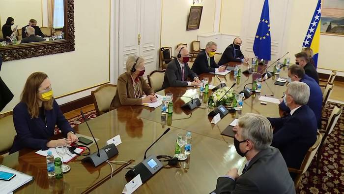 Video: Josep Borrell: Von Dayton zu Brüssel