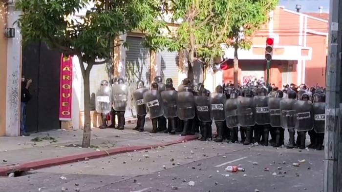 News video: Guatemala: Demonstranten fordern Rücktritt des Präsidenten