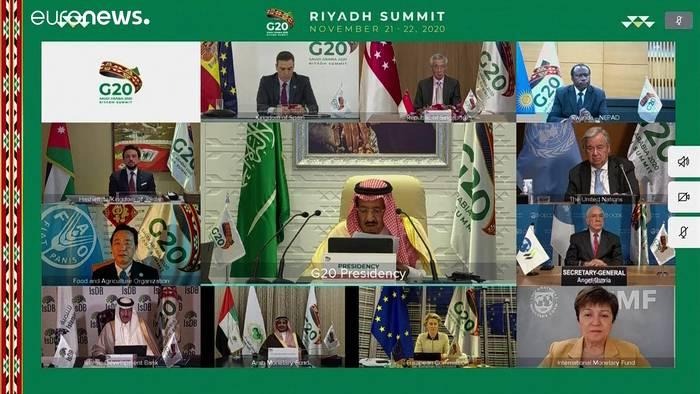 News video: G20-Gipfel: Einigung auf gerechte Impfstoff-Verteilung und Wirtschaftshilfe