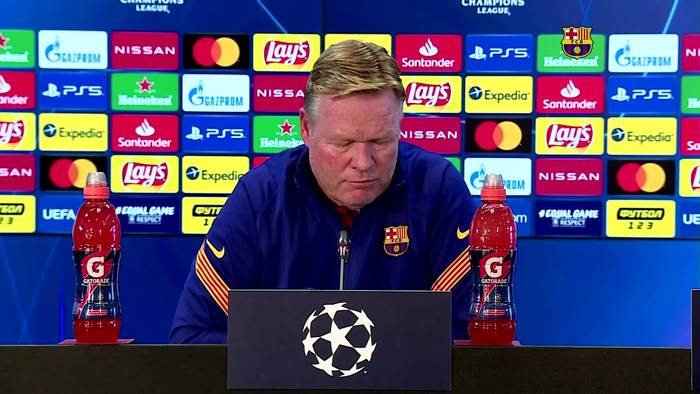 News video: Players need more protection, says Barca coach Koeman after resting Messi