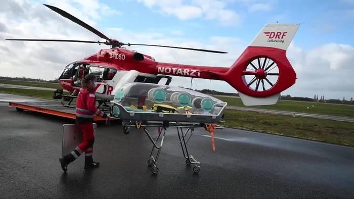 Video: Baden-Württemberg: Luftrettung für Covid-19-Patienten