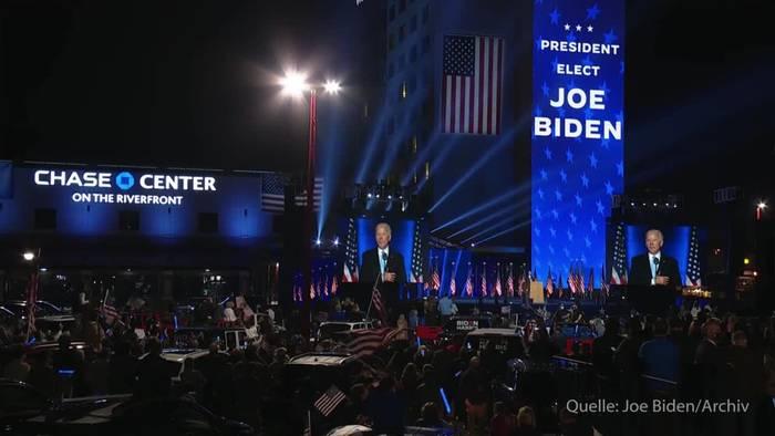 News video: Trump lenkt ein: Amtsübergabe an Joe Biden kann beginnen