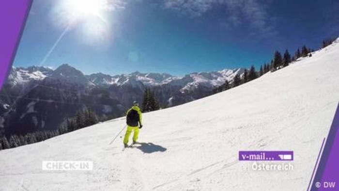 Video: Zuschauer-Video: Skifahren in Österreich
