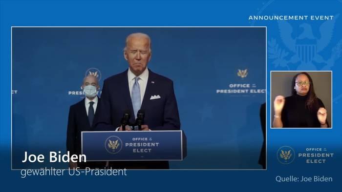 News video: Biden betont Führungsanspruch von Amerika in der Welt