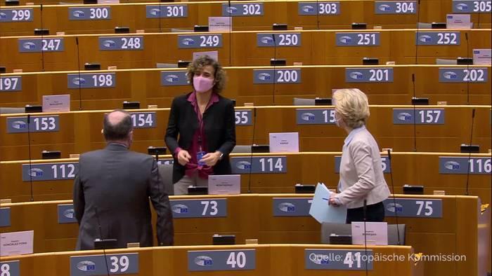 News video: EU: 3000 Covid-Tote am Tag - aber Licht am Ende des Tunnels