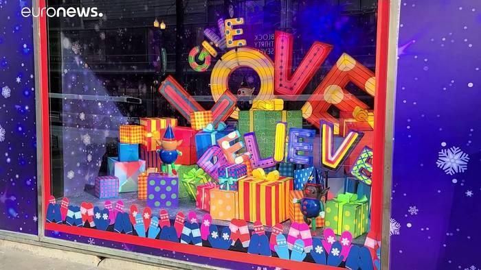 """Video: """"Wille, Glaube, Widerstandsfähigkeit"""": Einzelhandel baut nicht aufs Weihnachtsgeschäft"""