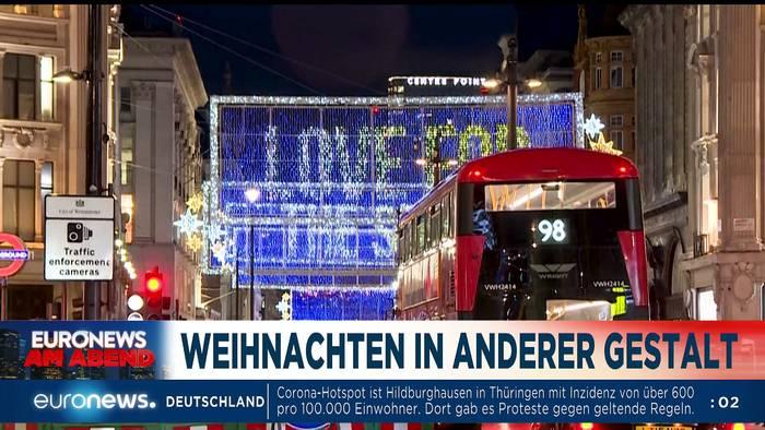 News video: Corona-Winter und Wut über Ungarn und Polen - Euronews am Abend 26.11.