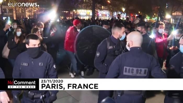 News video: Polizeigewalt in Paris & Trauer in Buenos Aires - NO COMMENT der Woche