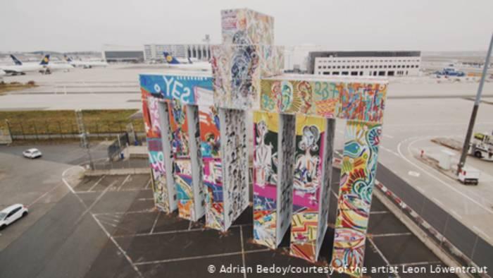News video: Global Gate - das größte mobile Kunstwerk der Welt