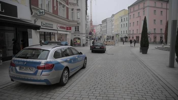 News video: Strenge Ausgangsbeschränkungen in Passau haben begonnen
