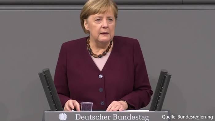News video: Kanzlerin in der Regierungserklärung mit Ansage zum Weihnachtsfest!