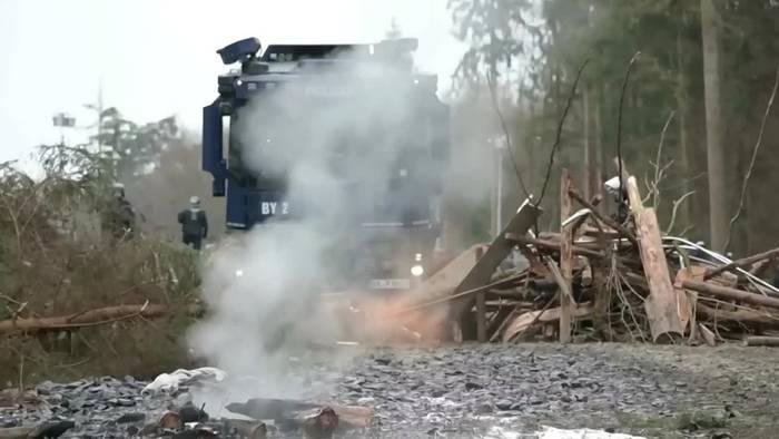 News video: Der Protest im Dannenröder Forst geht weiter