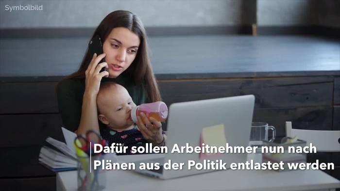 News video: Steuerpauschale fürs Homeoffice von 5 Euro/Tag geplant