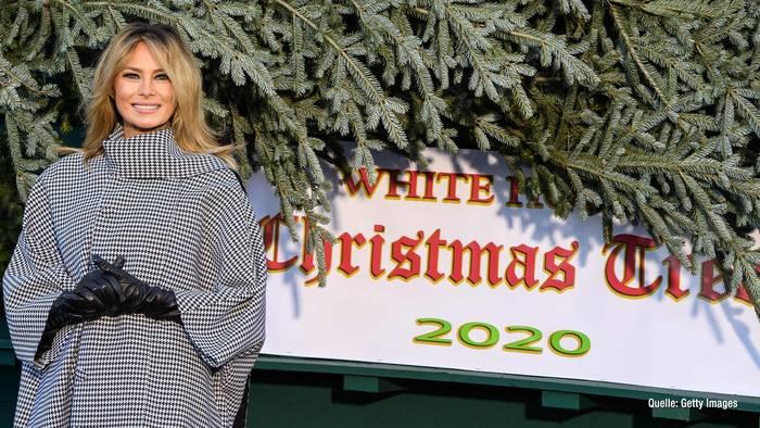 Video: Weihnachten im WeißenHaus: So hat Melania Trump dekoriert