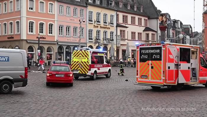 News video: Trier: Auch Vater des getöteten Babys unter Amok-Opfern