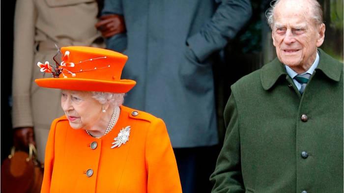 Video: Queen Elizabeth und Prinz Philip: Weihnachtsfeier ohne Familie