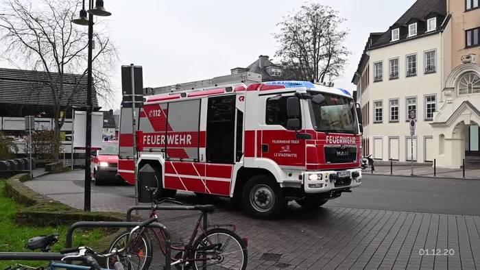 Video: Verdächtiger kommt nach Amokfahrt in Trier in Haft
