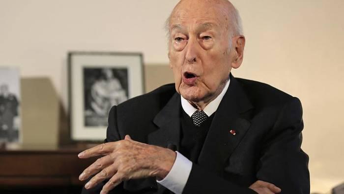 News video: Frankreichs Altpräsident Giscard d'Estaing ist tot