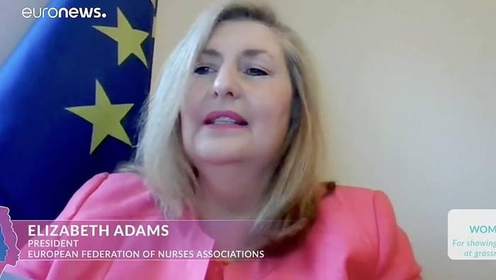 Video: Krankenschwestern als Frauen Europas geehrt