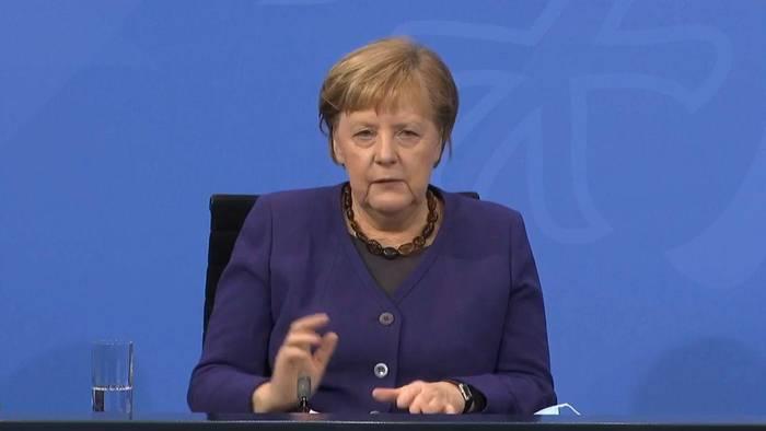 News video: Coronavirus: Merkel sieht Deutschland noch weit vom Ziel entfernt