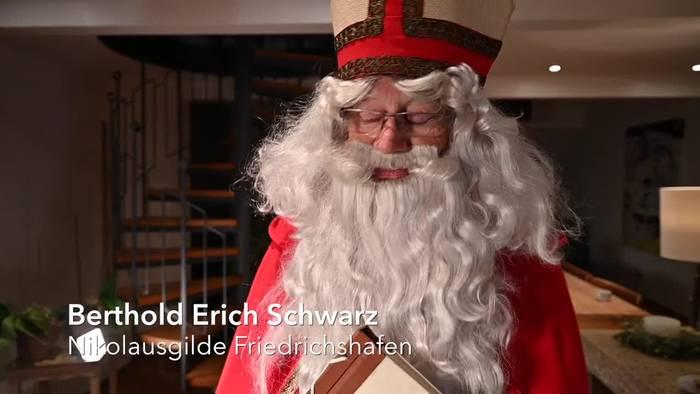 News video: Nikolaus im Pandemie-Modus - Online-Botschaft für Familien