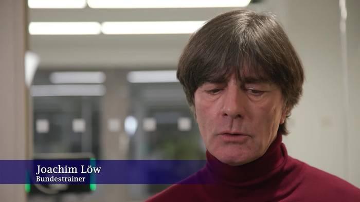 News video: Das sagt Jogi Löw zu deutschen WM-Qualifikations-Gruppe