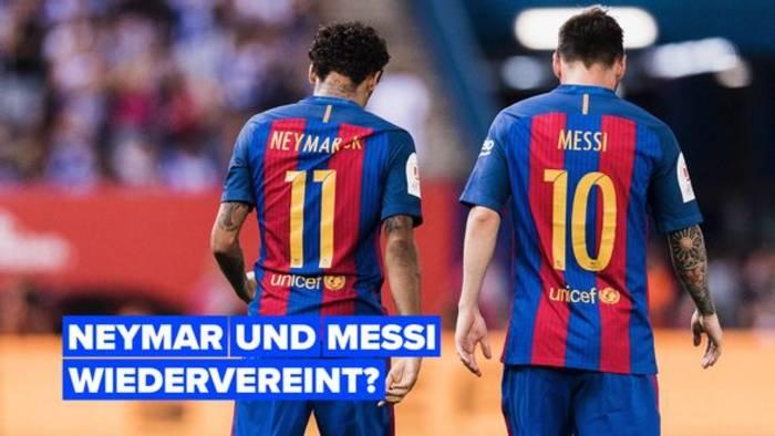 News video: Werden Neymar und Messi wieder zusammenspielen?