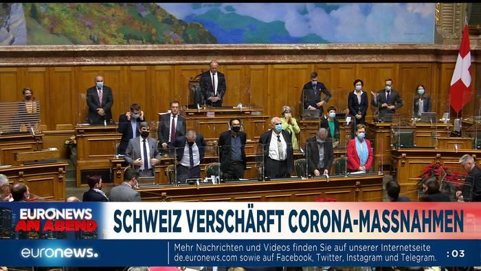 Video: Angela Merkels emotionaler Appell - Euronews am Abend am 09.12.