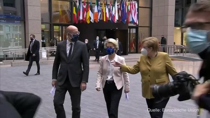 News video: EU-Gipfel für verschärftes Klimaziel 2030: Minus 55 Prozent