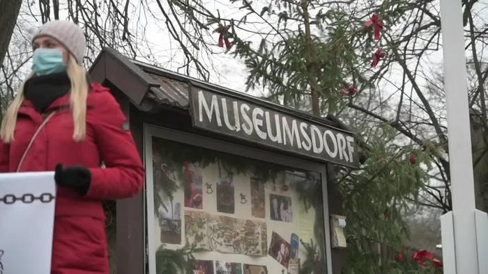 News video: «Freiheit für Goofy!» - Ochse soll raus aus Museumsdorf