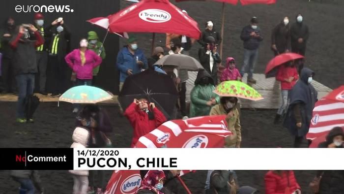 Video: Totale Sonnenfinsternis am Himmel über Chile und Argentinien