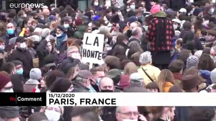 News video: Frust in der Kultur: Protest gegen Corona-Schließungen in Frankreich