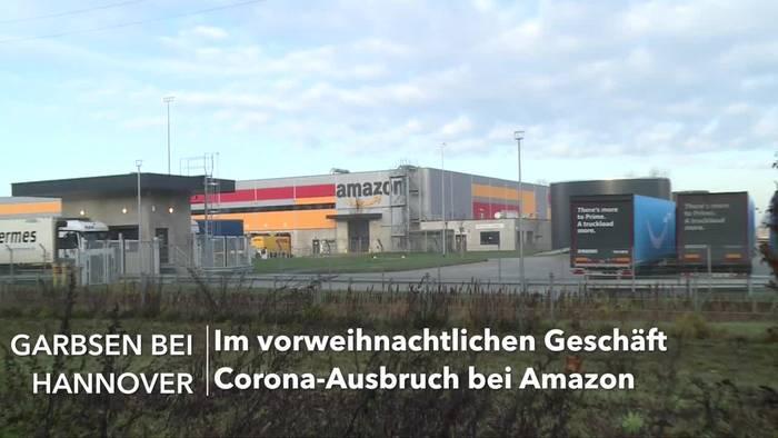 News video: Bisher 60 Fälle: Corona-Ausbruch bei Amazon in Garbsen