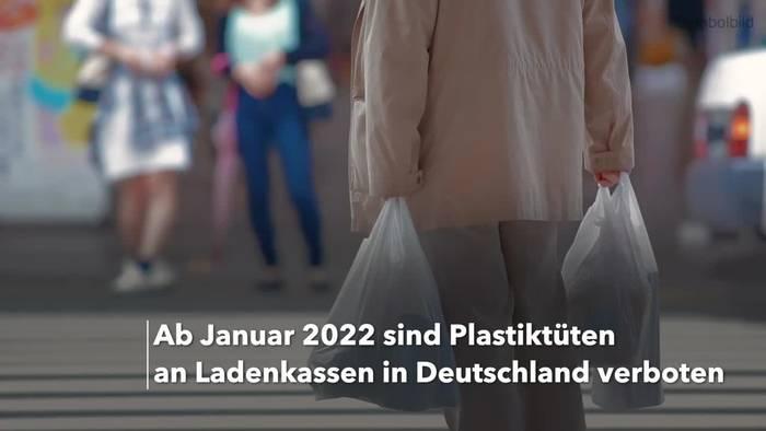 News video: Plastiktütenverbot nimmt letzte Hürde: Verbot ab 2022