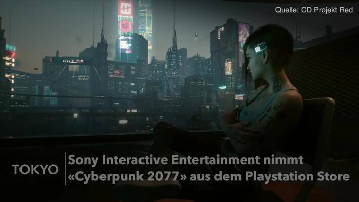 News video: «Cyberpunk 2077» aus Playstation Store entfernt
