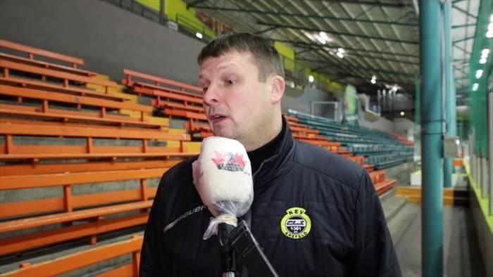 """News video: KEV Trainer und Sportvorstand Elmar Schmitz: """"Besondere Zeiten"""""""