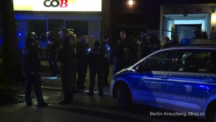 News video: Zwei Haftbefehle nach Schießerei in Berlin-Kreuzberg