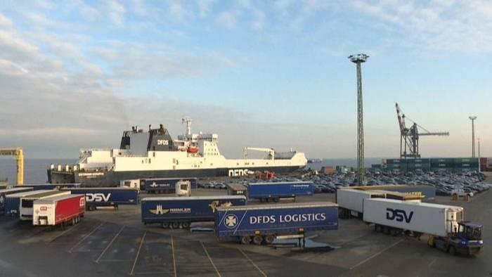 News video: Brexit: Vorbereitungen am Hafen in Cuxhaven