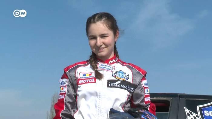 News video: Kindheit auf der Piste: Die jüngste Drift-Fahrerin Europas